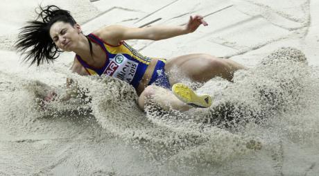 Deveanca Florentina Marincu Iușco, campioană națională la săritura în lungime