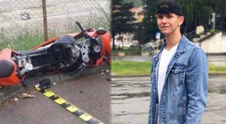 Tânăr de 17 ani decedat într-un accident. Conducea un motociclu, după ce a consumat băuturi alcoolice