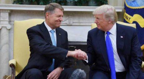 Preşedintele Klaus Iohannis se întâlneşte, la Washington, cu omologul american
