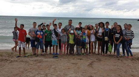 40 de copii din județ, în tabără la mare, gratuit!