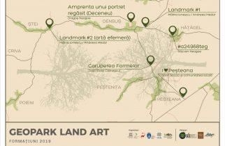 FORMAțiuni, prima tabără de Land art găzduită de Geoparcul Dinozaurilor