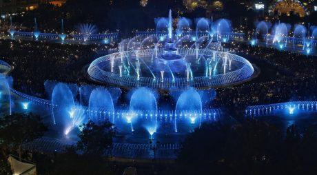 Bucureștiul stabilește un nou record mondial: Cel Mai Lung Șir de Fântâni Coregrafice Sincronizate din Lume