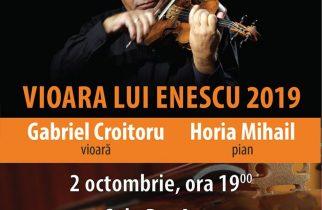 Vioara lui Enescu revine la Deva – miercuri, 2 octombrie 2019