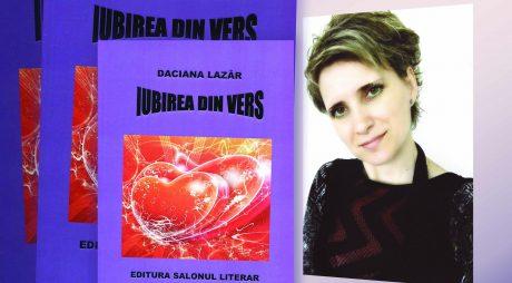 """Biblioteca Județeană. Lansare de carte: """"Iubirea din vers"""" – Daciana Lazăr"""