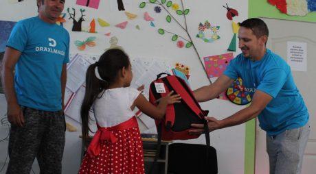 Comunicat de presă – Prima zi de școală cu DRÄXLMAIER Hunedoara