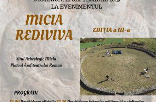 """Festivalul """"Micia Rediviva"""", la ediția a III-a"""