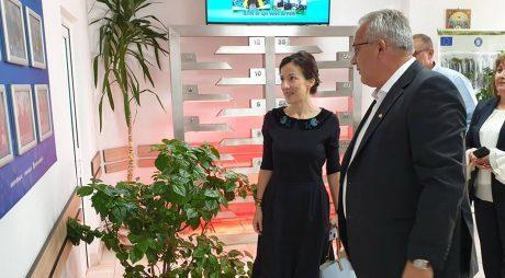 Ministrul Fondurilor Europene, în județul Hunedoara