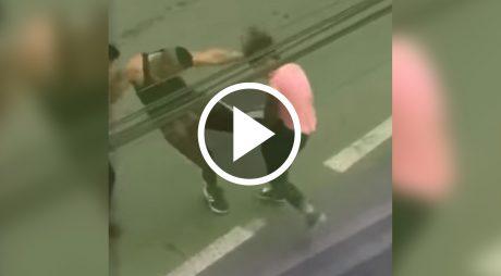 VIDEO. Scene pline de AGRESIVITATE în plină stradă
