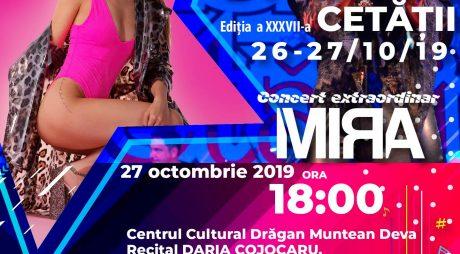 """Festivalul Naţional de Muzică Pop ,,Stelele Cetăţii"""" – Deva, 26 şi 27 octombrie 2019"""