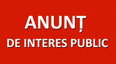 Consiliul Județean Hunedoara: ANUNȚ DE INTERES PUBLIC