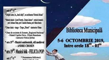 """Hunedoara: """"Noaptea bibliotecilor"""" – ediția a VIII-a"""