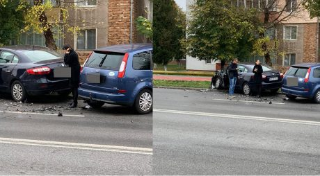 Accident auto, în Hunedoara