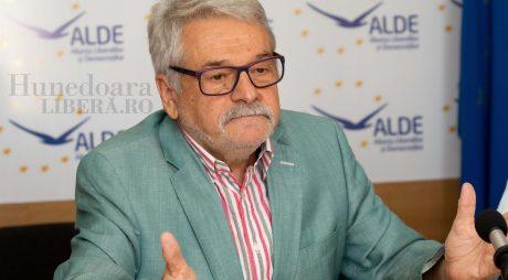 De ce a demisionat Mircea Ioan Moloț din fruntea ALDE Hunedoara