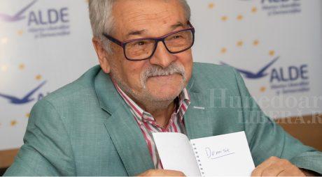 Mircea Ioan Moloț a demisionat din fruntea ALDE Hunedoara