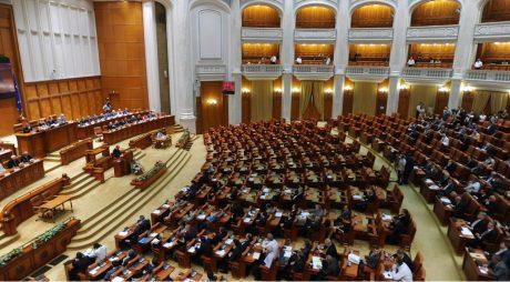 Parlament: Moţiunea de cenzură este citită joi în plenul reunit