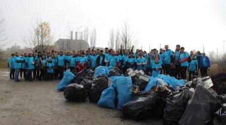 """Comunicat de presă: Angajații DRÄXLMAIER au participat la acțiunea """"Ziua Curățeniei"""""""