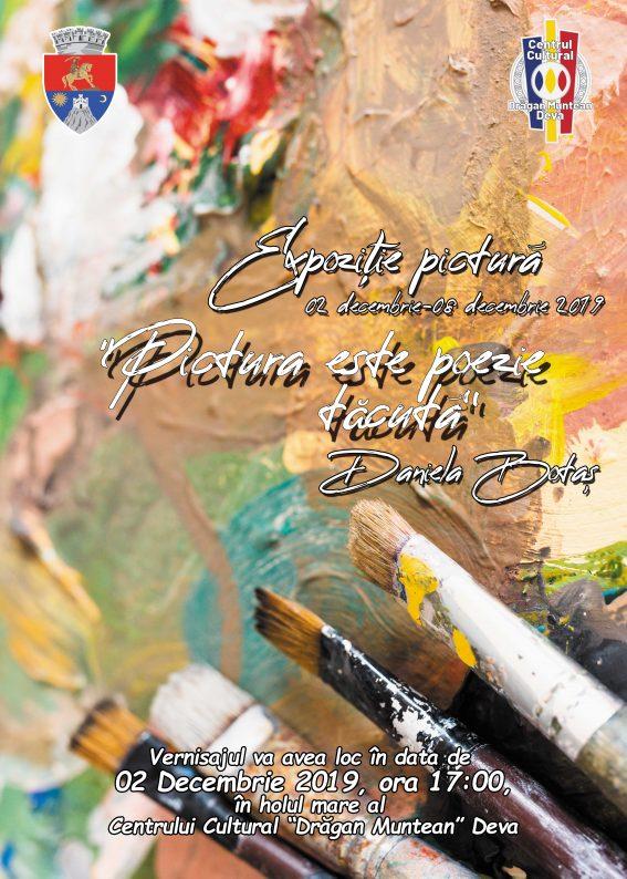 Afis Expozitie pictura Daniela Botas