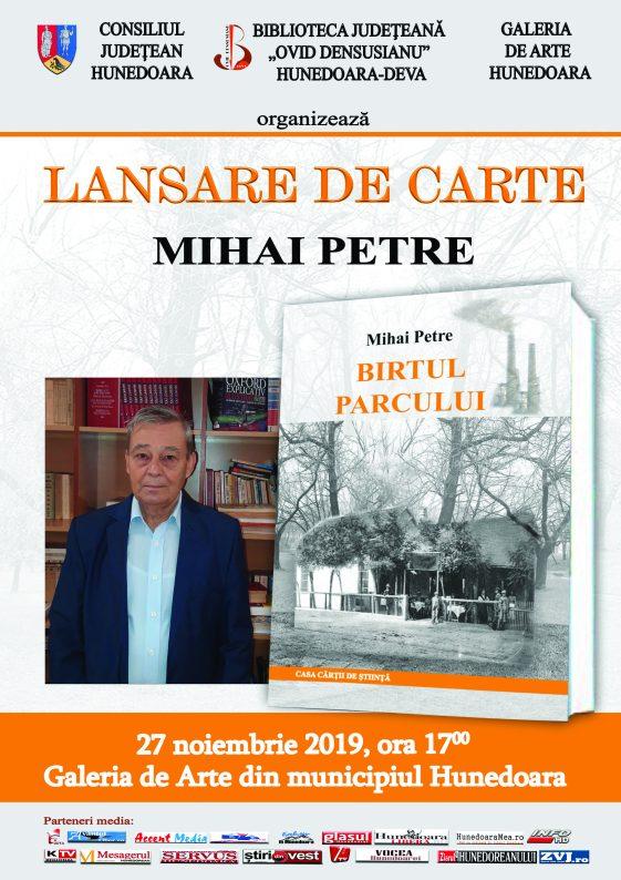 Afis MIHAI PETRE 2019