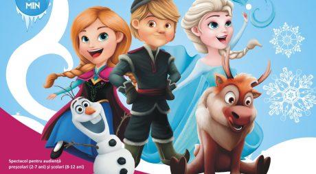 Mai sunt doar 3 zile până la întâlnirea cu faimoasele personaje din Frozen!