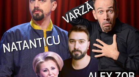 Natanticu, Varză, Alex Zob și Irena Boclincă, într-un super-show de comedie, la Deva!