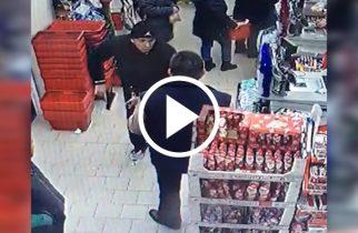 VIDEO: I-a pus un pistol la cap unui agent de pază. Gestul nebunesc al unui client