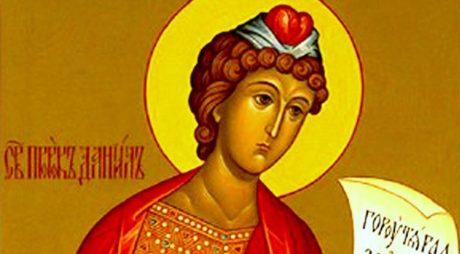 Sfântul Daniel, sărbătorit de credincioși în 17 decembrie. Viața celui care este considerat ocrotitorul emigranților