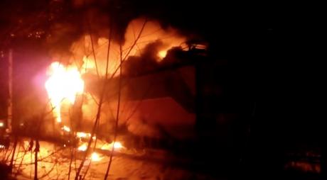 Incendiu de proporții în județul Hunedoara