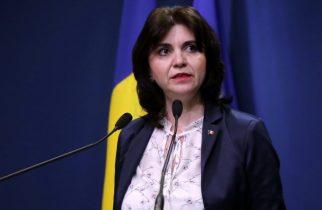 Monica Anisie, despre purtarea măştii de către elevi: Masca, prin lege, obligatoriu de purtat