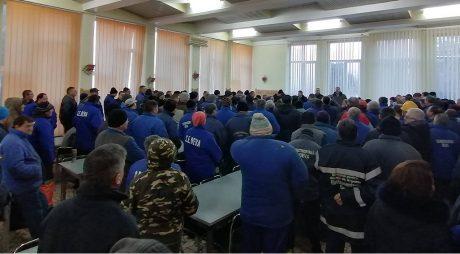 Angajaţii Termocentralei Mintia şi-au primit restanţele salariale