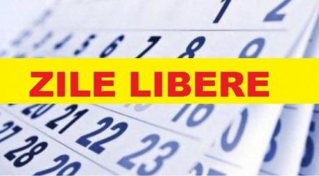 Minivacanță 2020: Trei zile libere, în acest weekend