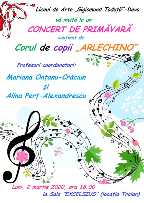 Afis Concert Arlechino