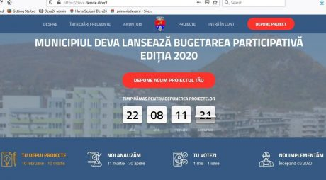 BUGETARE PARTICIPATIVĂ 2020. Primele 3 idei de îmbunătățire a calității vieții în Deva!