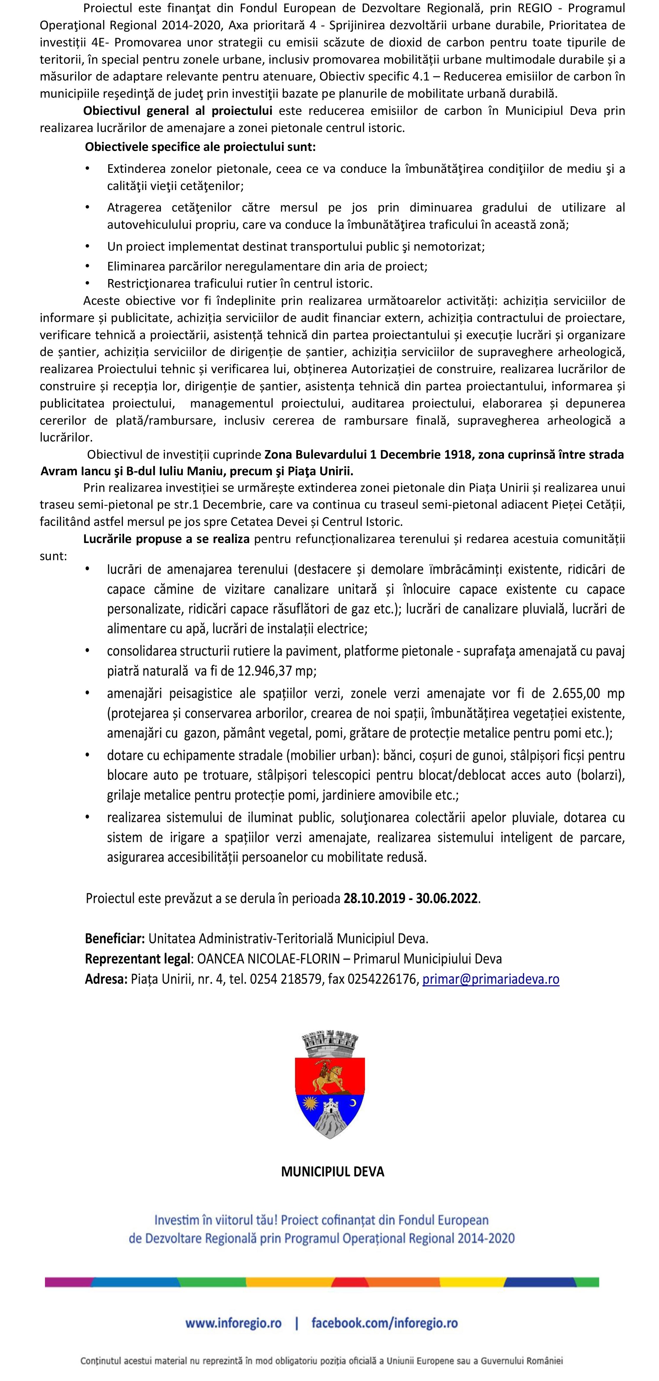 Microsoft Word - Comunicat Lansare proiect_Municipiul Deva 2.pdf