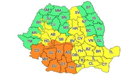BREAKING NEWS / Avertizare meteorologică: Ninsori abundente, strat de zăpadă consistent și viscol în județul Hunedoara
