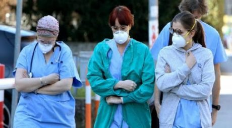 Cadrele medicale din Italia cad secerate din cauza Covid-29