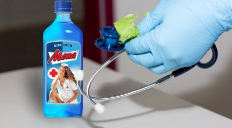 Alcoolul sanitar s-a scumpit cu 100% și se mai găsește doar online