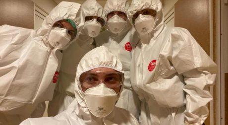 Patru cadre medicale de la Timişoara şi Craiova, detaşate în judeţul Hunedoara
