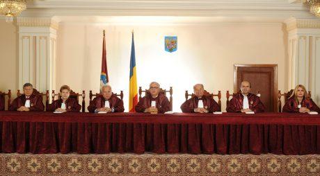 CCR discută sesizările AUR asupra Hotărârii Parlamentului privind învestirea Guvernului Cîţu