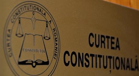 CCR: 28 septembrie – termen pe conflictul dintre Guvern şi Parlament pe tema moţiunii de cenzură