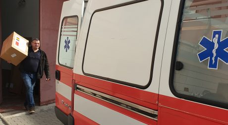 Consiliul Județean Hunedoara distribuie echipamente de protecție spitalelor suport Covid-19
