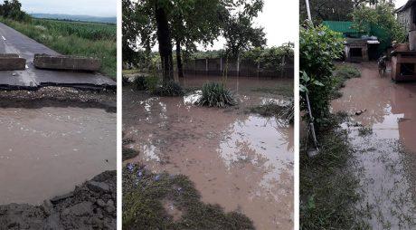 Pericol de inundați – Cod ROȘU pe Strei și afluenți