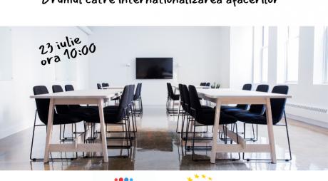 Drumul către internaționalizarea afacerilor – sesiune de informare online pentru firmele din județul Hunedoara