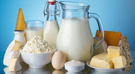 Valoarea importurilor de produse lactate, ouă şi miere, în creştere cu 25% în primul trimestru