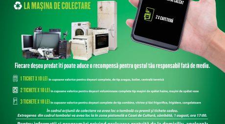 Campanie de colectare a deșeurilor electrice și electronice la Hunedoara