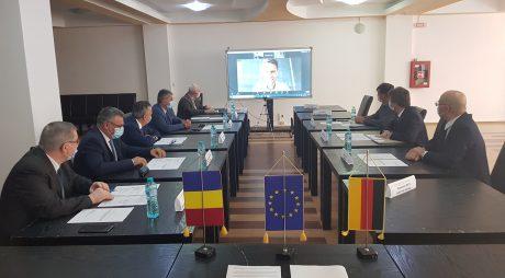 Instituția Prefectului:Întâlnire importantă pentru sprijinirea mediului de afaceri din județ