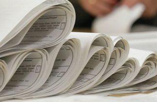 Ordinea pe buletinele de vot pentru alegerea Consiliului Județean și a președintelui CJ
