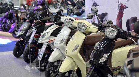 Creştere cu peste 10% a înmatriculărilor de motociclete, ATV-uri şi scutere în România, la opt luni