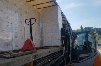 Naguma Medical Supply SRL livrează 1.107.100 de măști medicale la DSP Hunedoara