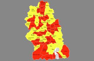 Lista primarilor aleși în cele 69 de localități ale județului, 27 septembrie 2020