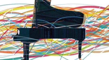 Concert de pian la 400 de metri înălțime!